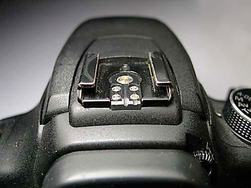 Canon 350D Hot Shoe