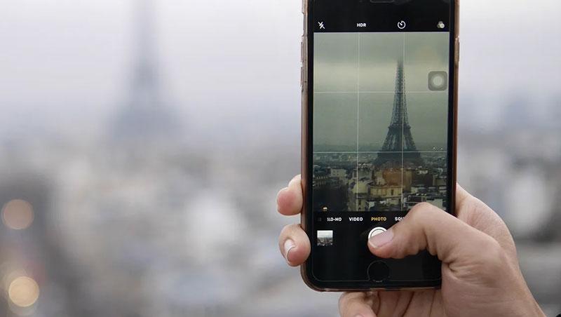 foto profesional dengan smartphone
